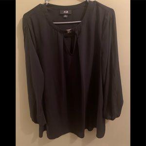 AGB XL long sleeve blouse